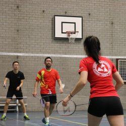 Badmintonnen bij USSR